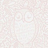 Boråstapeter Buddy Birds Pink Wallpaper
