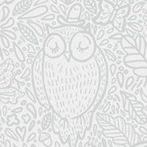 Boråstapeter Buddy Birds Grey Wallpaper