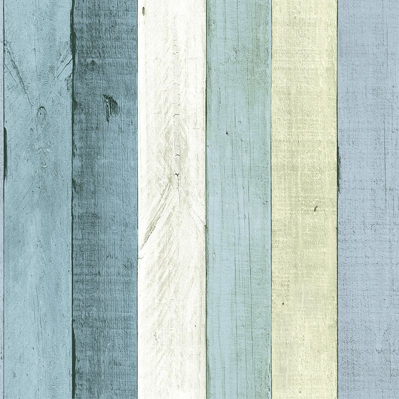 Wemyss Wooden Panel Turquoise Wallpaper - Product code: 17-Turquoise