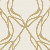 Wemyss Nove Gold Wallpaper