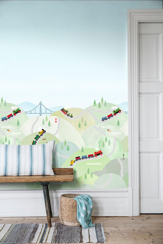 Boråstapeter Brio Hills Multi Mural - Product code: 6271