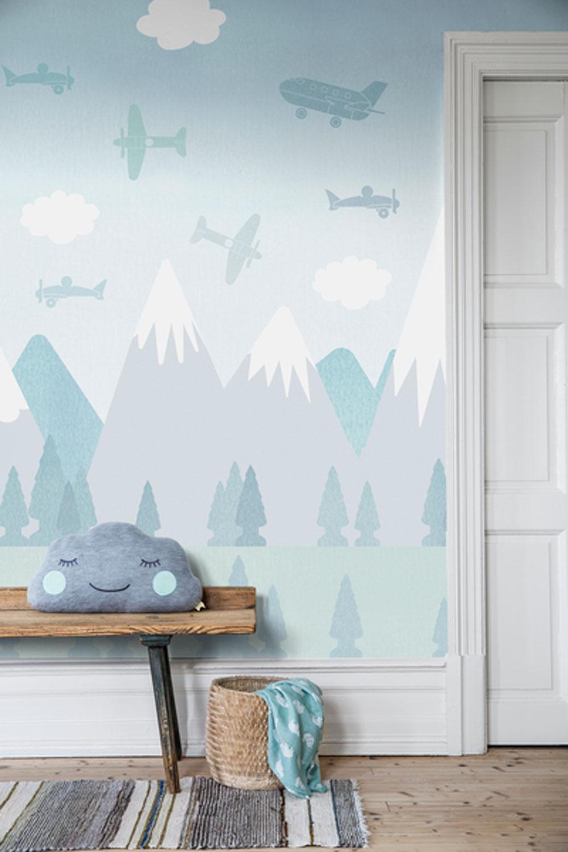 Boråstapeter Brio Air Sky Blue Mural - Product code: 6272