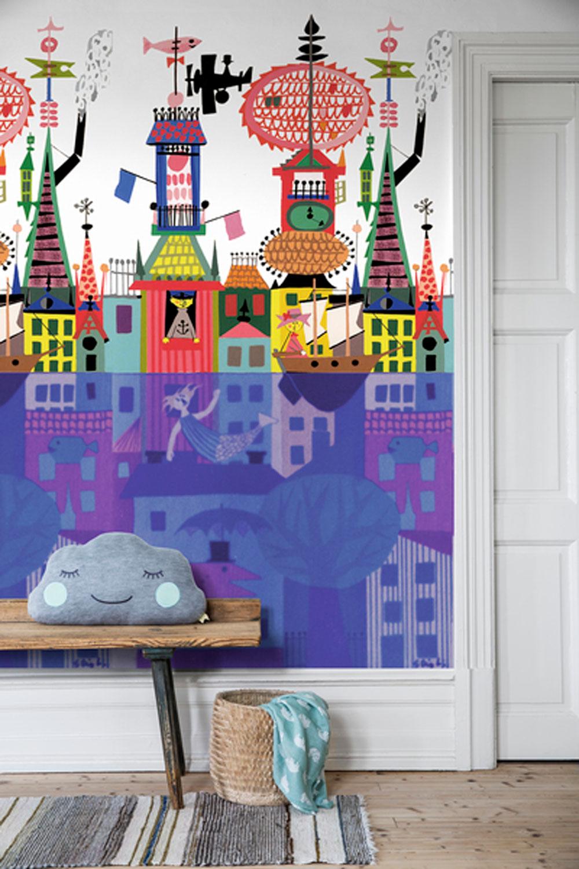 Boråstapeter Sålunda Multi Mural - Product code: 6275