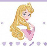 Galerie Sweet Princesses Border Multi - Product code: PR3525-1
