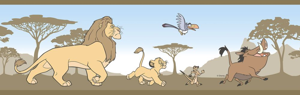 Galerie The Lion King Border Sand - Product code: RL3522-2