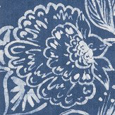 William Yeoward Philippine Indigo Wallpaper