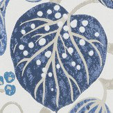 William Yeoward Astasia Indigo Wallpaper