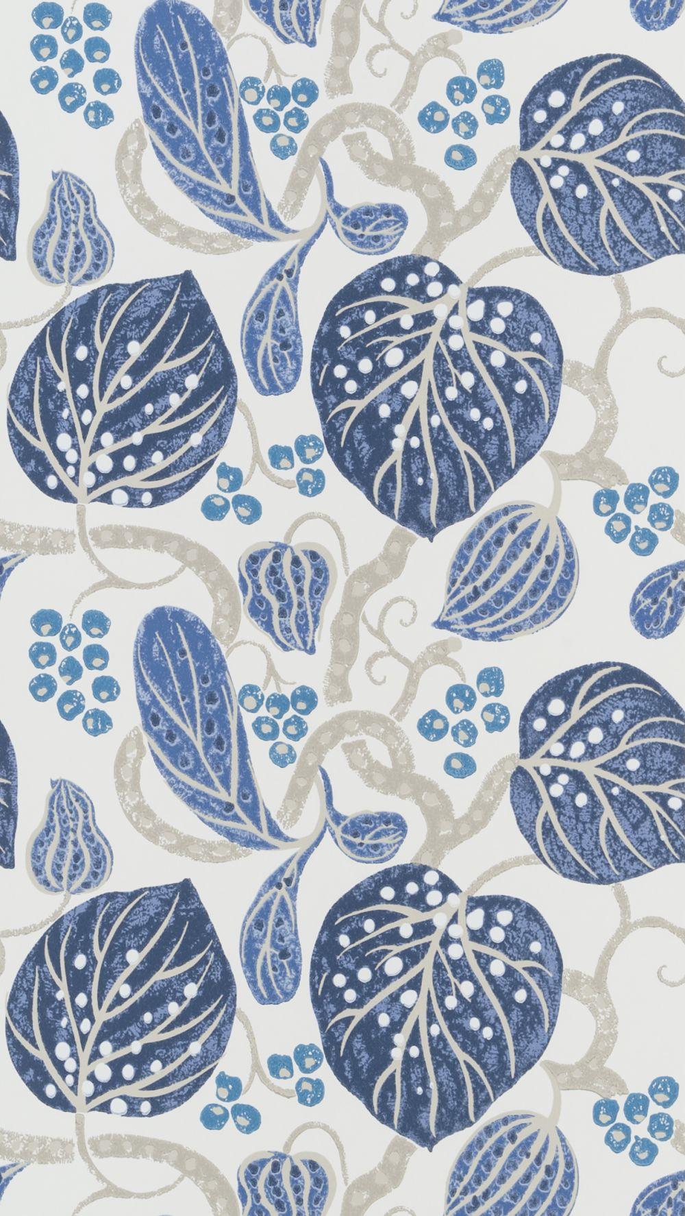 William Yeoward Astasia Indigo Wallpaper - Product code: PWY9002/01