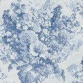 William Yeoward Perosita Indigo Wallpaper - Product code: PWY9005/01