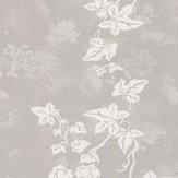 Barneby Gates Ivy Aged Grey Wallpaper