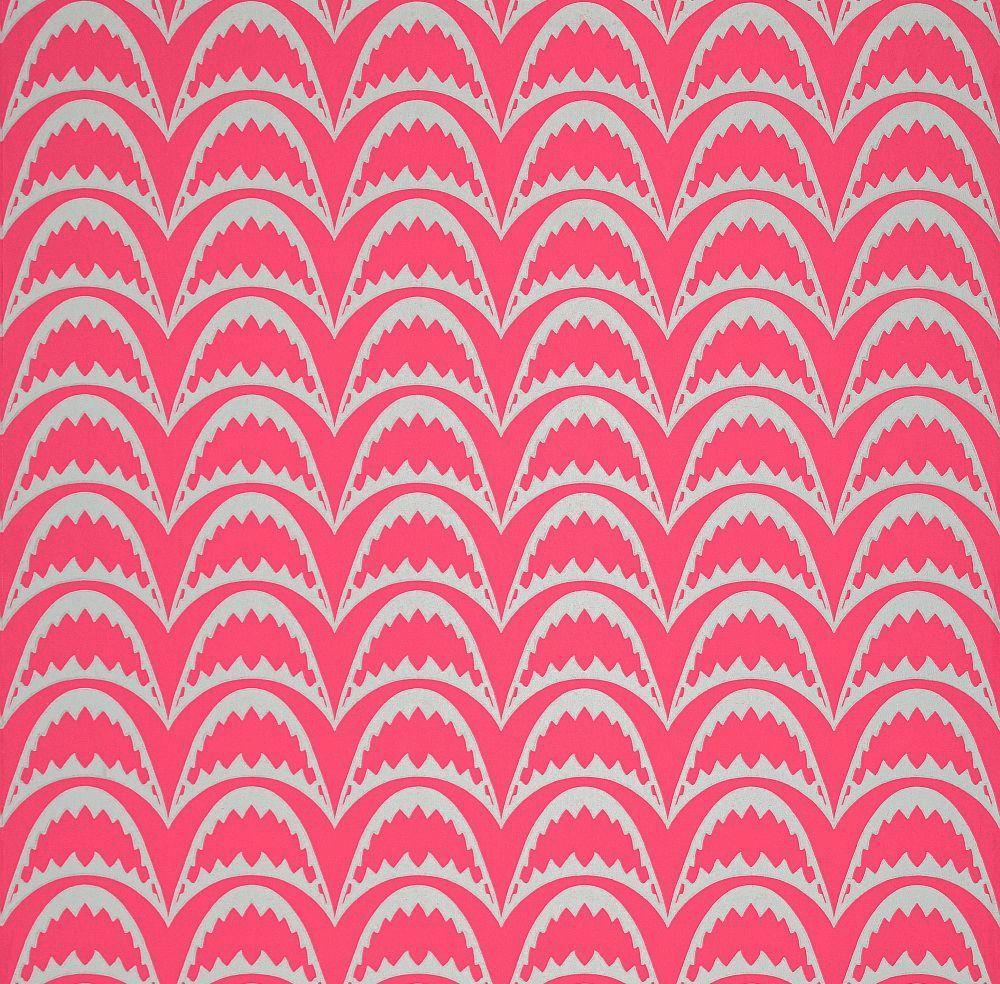 Barneby Gates Arcade Raspberry Wallpaper main image