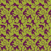 A Shade Wilder Monkey Business Canopy Wallpaper - Product code: 300073
