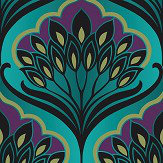 A Shade Wilder Pavonis Peacock Wallpaper