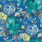 A Shade Wilder Dianthus China Blue Wallpaper