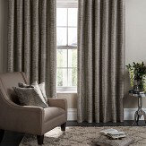 Studio G Campello Eyelet Curtains  Charcoal  Ready Made Curtains