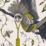 Emma J Shipley Audubon Gold Wallpaper - Product code: W0099/02