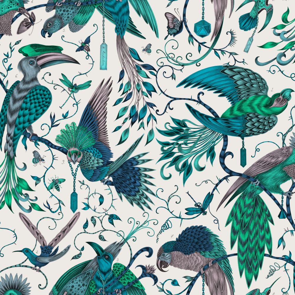 Clarke & Clarke Audubon Jungle Wallpaper - Product code: W0099/03