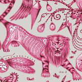 Emma J Shipley Extinct Magenta Wallpaper - Product code: W0100/03