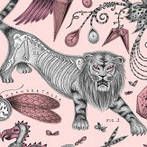 Emma J Shipley Extinct Pink Wallpaper - Product code: W0100/05