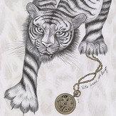 Emma J Shipley Tigris Monochrome Wallpaper - Product code: W0105/02