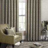 Studio G Campello Eyelet Curtains  Olive Ready Made Curtains