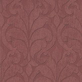 Eijffinger Distressed Damask Red Wallpaper