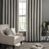 Studio G Campello Eyelet Curtains  Putty Ready Made Curtains