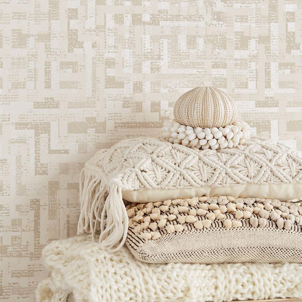 Eijffinger Blocks Natural Wallpaper - Product code: 376010