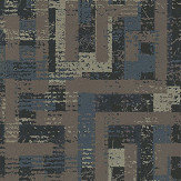 Eijffinger Blocks Brown Wallpaper