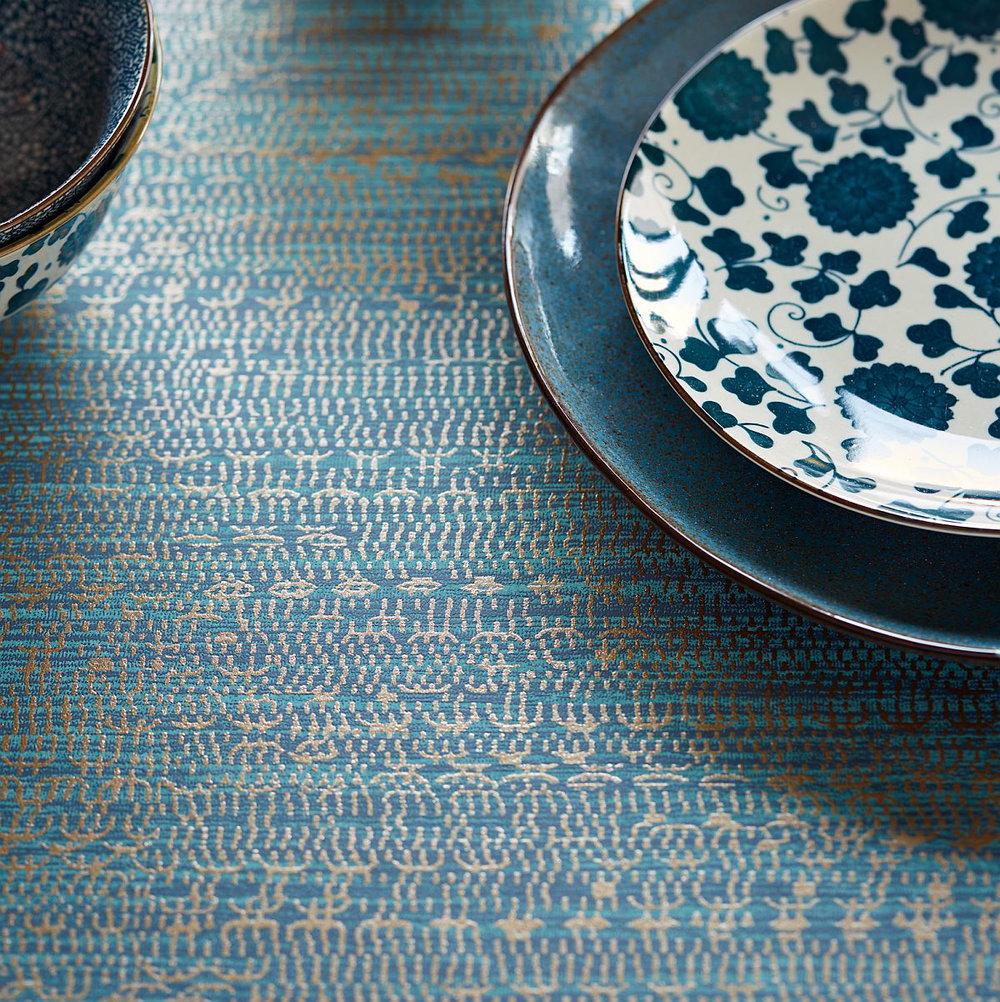 Eijffinger Tapestry Teal Wallpaper - Product code: 376034