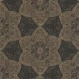 Eijffinger Mosaic Star Golden Brown Wallpaper