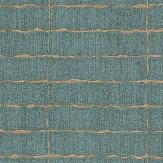 Eijffinger Distressed Tile Teal Wallpaper