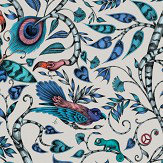 Clarke & Clarke Rousseau Blue Wallpaper
