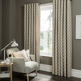 Studio G Castello Eyelet Curtains Mushroom Ready Made Curtains - Product code: M1103/03/46X5