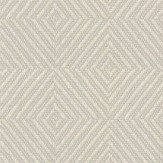 Colefax and Fowler Carine Silver Wallpaper