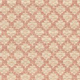 Colefax and Fowler Esther Coral Wallpaper