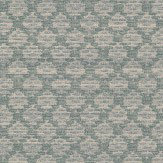Colefax and Fowler Esther Teal Wallpaper