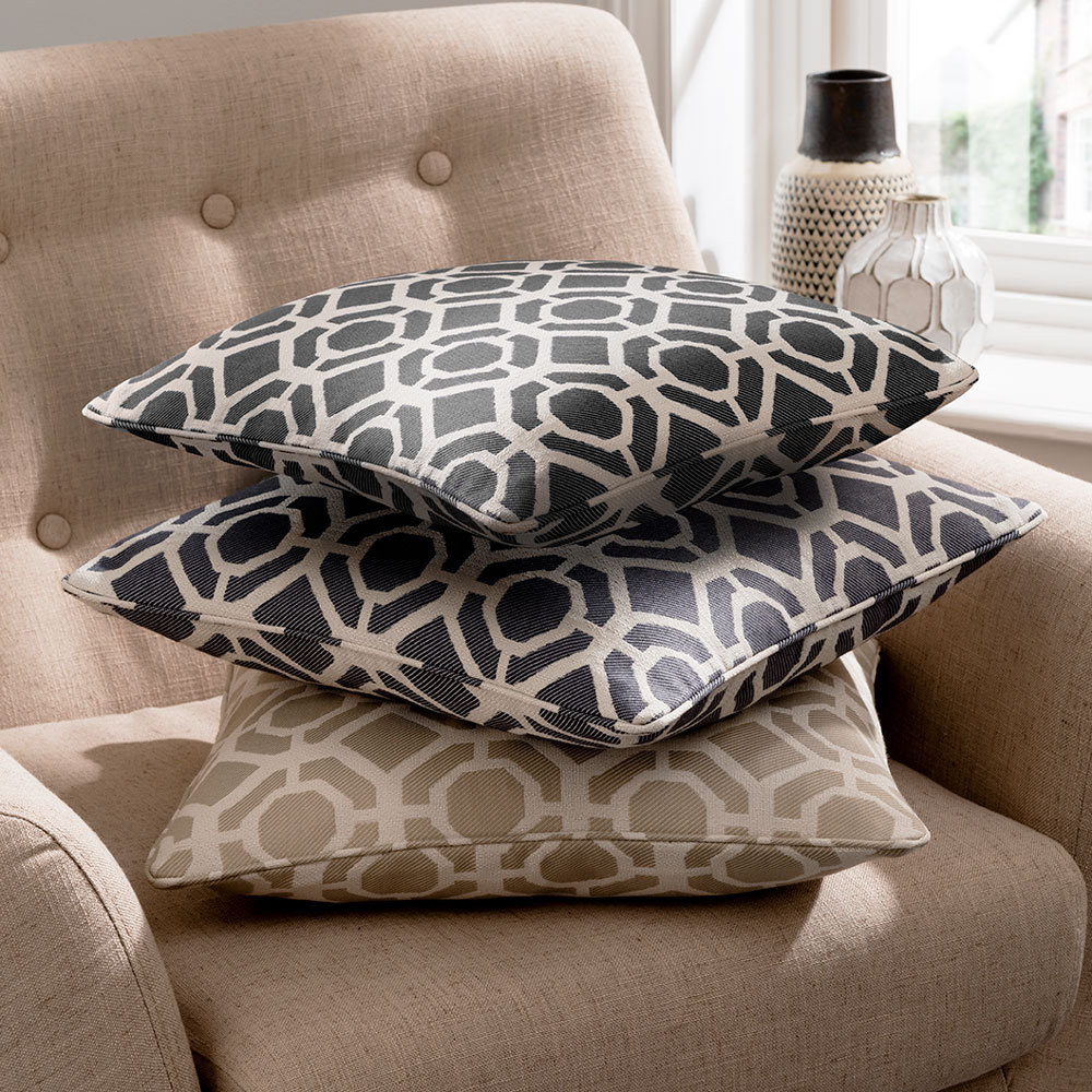 Studio G Castello Cushion Mushroom - Product code: M2103/03