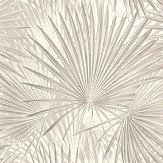 Albany Palm Leaves Neutral Wallpaper