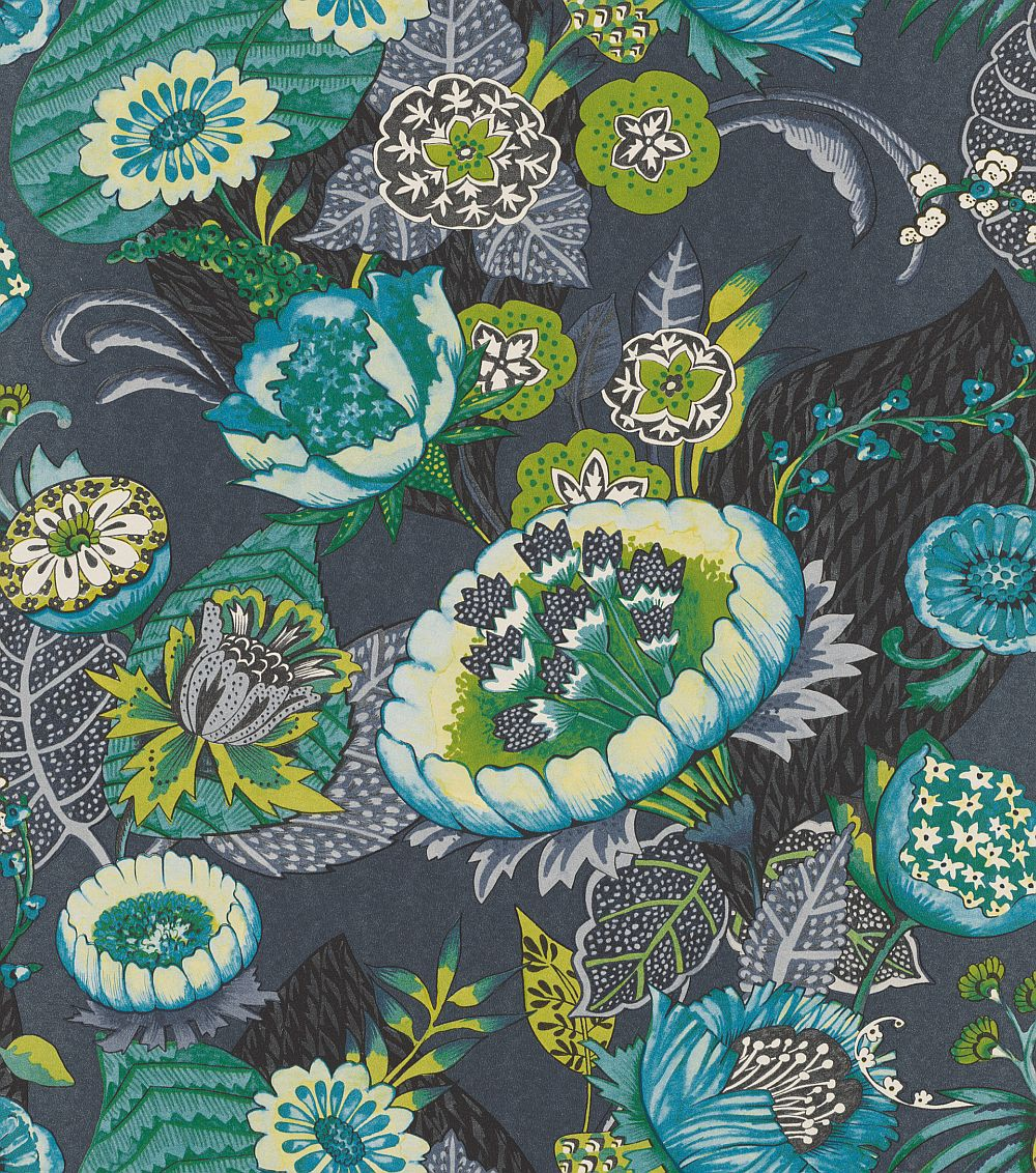 Albany Bohemian Flower Midnight Blue Wallpaper - Product code: 803648