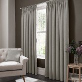 Studio G Elba Pencil Pleat Curtains  Feather Ready Made Curtains