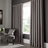 Studio G Elba Eyelet Curtains Grey Ready Made Curtains - Product code: M1104/02/46X5