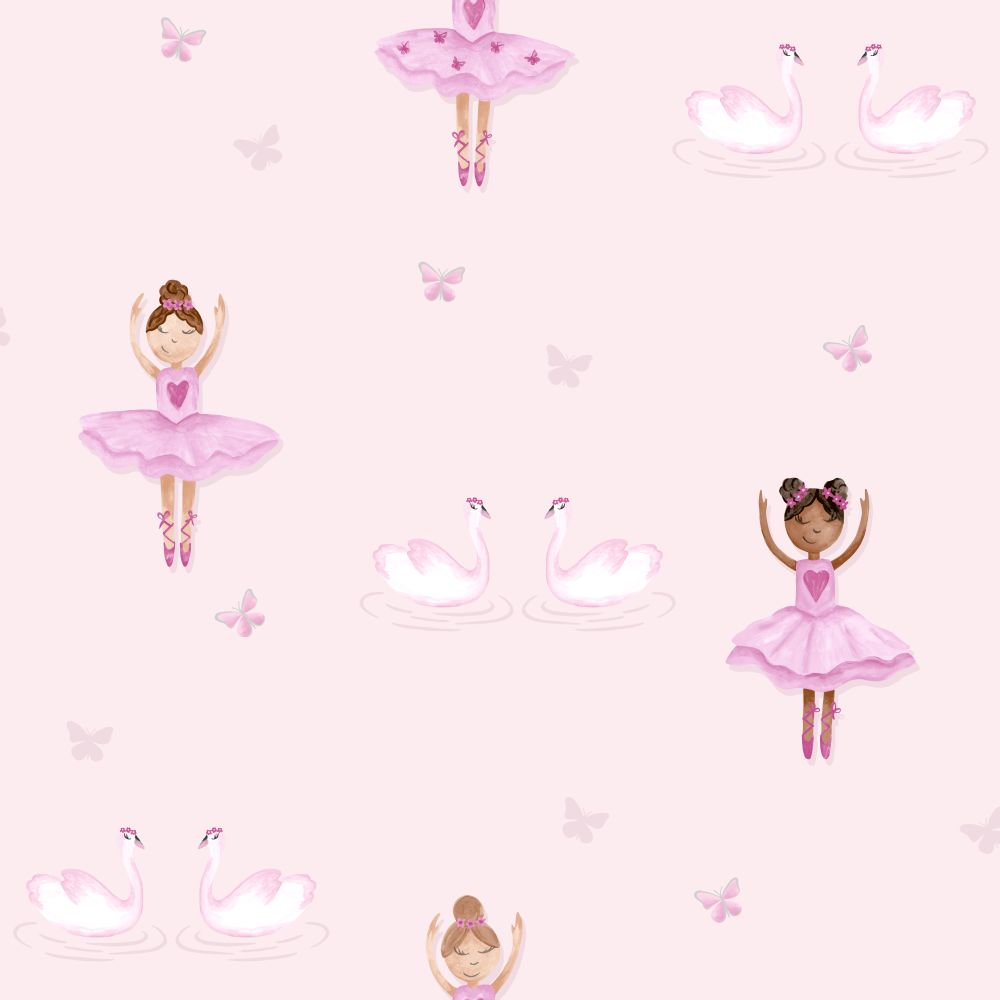 Albany Ballerina Pink Wallpaper - Product code: 12460