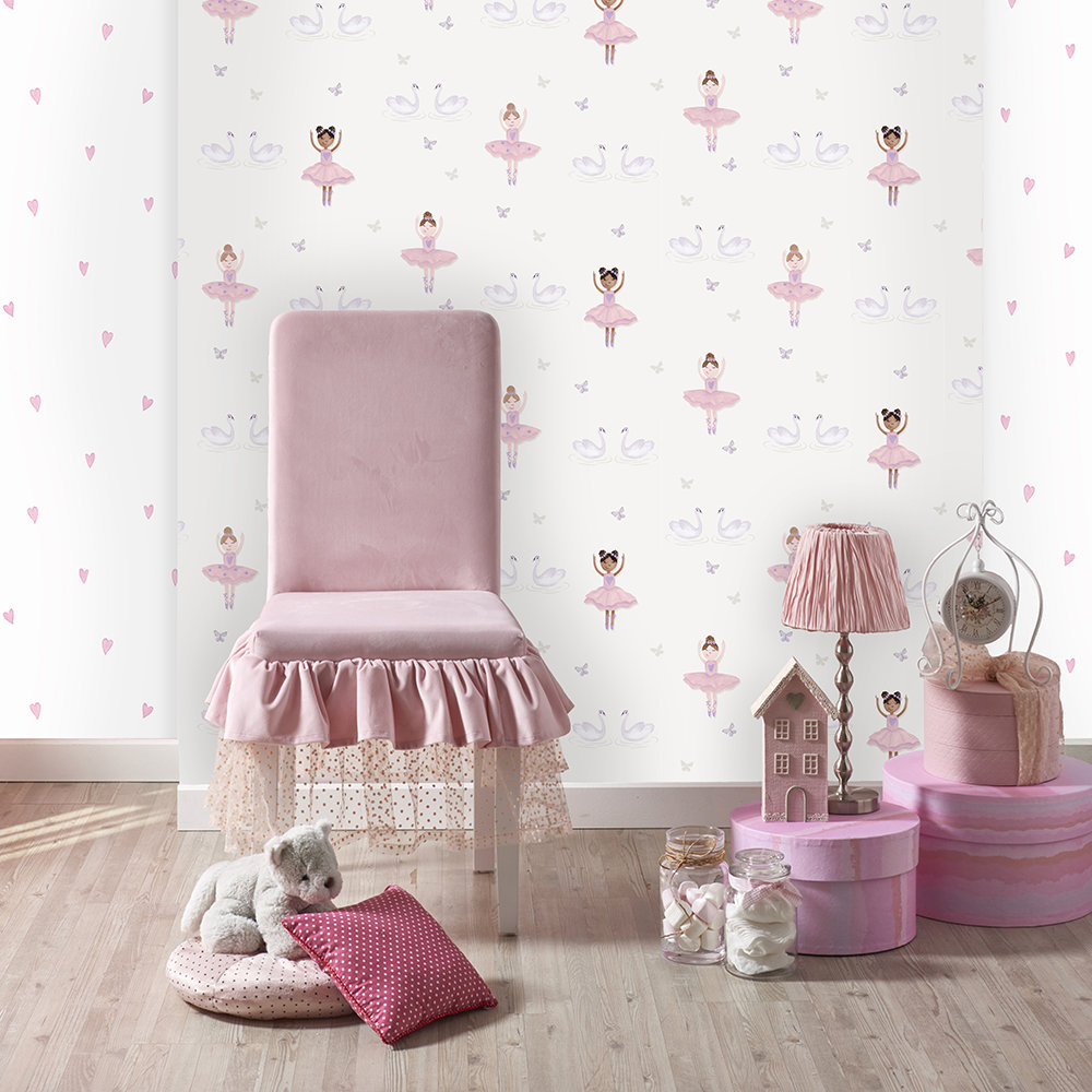 Albany Ballerina Cream Wallpaper - Product code: 12461