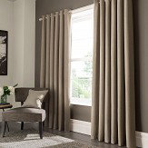 Studio G Elba Eyelet Curtains Linen Ready Made Curtains - Product code: M1104/03/46X5