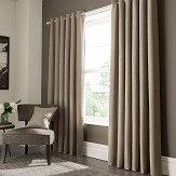 Studio G Elba Eyelet Curtains Linen Ready Made Curtains