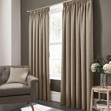 Studio G Elba Pencil Pleat Curtains  Linen Ready Made Curtains - Product code: M1105/03/46X5