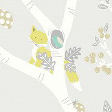 Albany Woodland Adventure Grey Wallpaper
