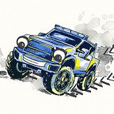 Albany Monster Trucks Multi Wallpaper - Product code: 12510