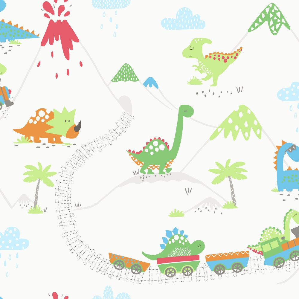 Albany Dino Town Multi Wallpaper - Product code: 12530